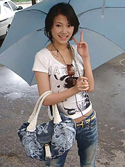 Picture collection of a pretty Thai chick