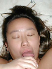 Pictures of cocksucking Asian bitches