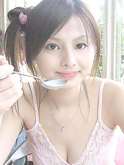 Pictures of three Asian amateur cuties