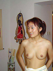 Pictures of naked Asian girlfriends