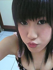 Nice pictures of two hot Asian chicks