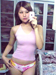 Picture set of lovely Asian teens