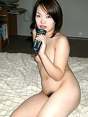 Various photos of naughty naked Asian girls