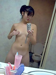An absolutely beautiful and sexy naked Asian babe