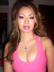 An Asian hottie dedicating her naughty pics to Dane Cook