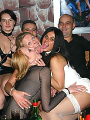Pictures of hot and wild party housewives