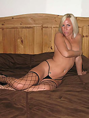 Pictures of a blonde housewife gone wild