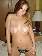 Pictures of busty housewives posing
