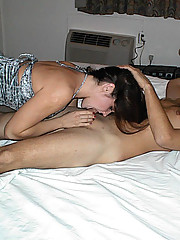 Photos of a gorgeous MILF enjoying hardcore sex with her husband