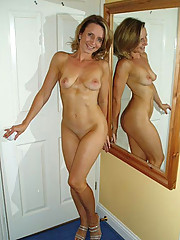 Photos of hot MILFs from across the street