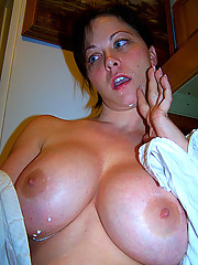 MILF with nice big boobs