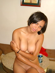 Slutty Mexican whore gets naked in a jacuzzi