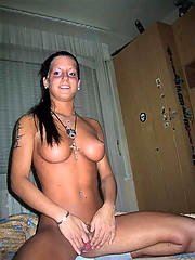Pictures of amateur babes showing their big tits