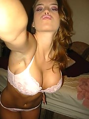 Photo collection of amateur busty girls