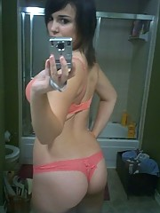 A collection of nude selfpic hotties