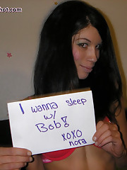 Nora shows her love for Teens Self Shot