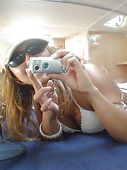 Pictures of self-shooting amateur chicks
