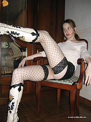Pictures of pretty Lila spreading her legs