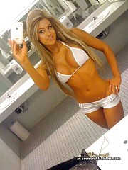Picture collection of amateur chicks in sexy bikinis