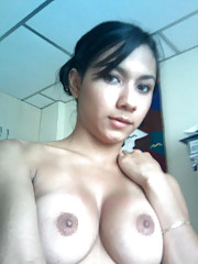 Pictures of a busty girlfriend who