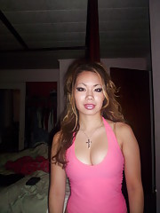 Kinky Asian sluts showing pink
