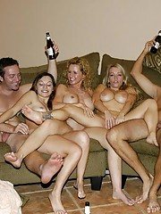 Kinky orgy action from wild amateurs