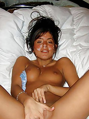 Hot photo colletion of cum facials