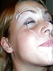 Pictures of chicks who like sticky jizz