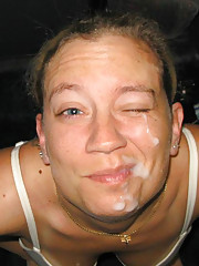 Photos of amazing amateur cum facials