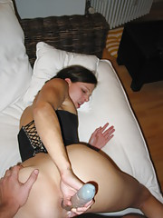 Hardcore anal and facial from a horny couple