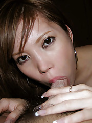 A picture collection of horny Asian hotties sucking cock