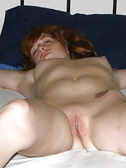 Cute redhead takes some hot and kinky oral abuse