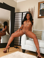 Samone Taylor signed up because she was looking for a deep dicking, and we must say that she came to the right place.  She loosened things up with her favorite sex toy and then bent over to take every hard, pulsating inch of this flesh pole inside her.