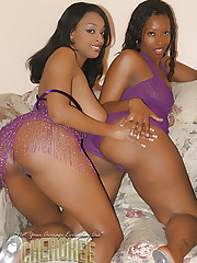 Cherokee and Carmen Hayes have pussy licking fun