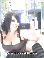Chubby emo slut whoring her tits in any way