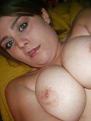 BBW honey showing off her hot naked body