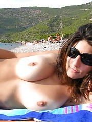 Sweet open minded amateurs pictures exposed with their friends