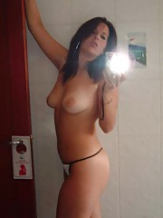digicam plus mirror and hot girl equals fun