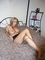 delicious blonde dared to pose