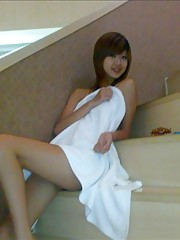 bf takes pics of his gf sneaking around the hotel spa early morning