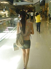 chinese mall upskirtss