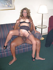 amateur interracial outside