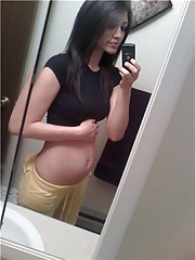 Assorted and fresh images from the hottest pregnant girlfriends