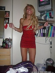 Wild UK party girl in hot and sexy hacked pictures