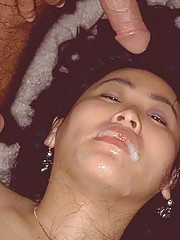 Picture collection of horny babes who enjoy getting jizzed on