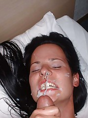 Photos of hot and messy cumshots