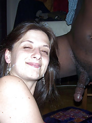 Picture set of a wild blowjob and loads of cum explosion