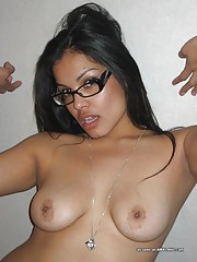 Latina GFs showing off their naked bits