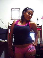 Busty Latinas shows off thier juicy jugs