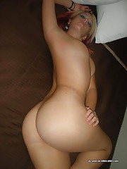 Picture collection of a tattooed scene GF in hot lingerie